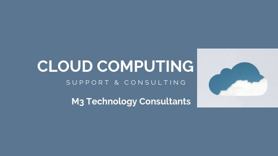 cloud computing support consultants banner