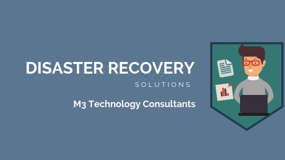 disaster recovery solutions banner image